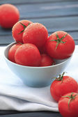 Fresh wet tomatoes — Foto de Stock