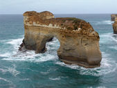 Bridge in the surf - Great Ocean Road — Stock Photo