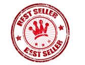 Best seller stamp — Stock Vector