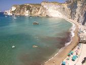 Beach at Ponza — Stock Photo