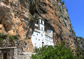Ostrog orthodox monastery, Montenegro — Stock Photo