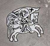 Symbol of city's Zadar — Stock Photo