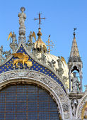 Lion with wings - symbol of Venice — Stock Photo