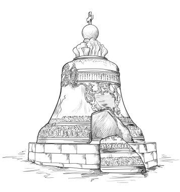 Big bell in Moscow Kremlin