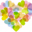 Royalty-Free Stock Imagen vectorial: The heart for Valentines day