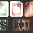 Abstract Christmas shopping labels - Image vectorielle