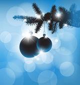 Vector Christmas background card — Stock Vector