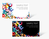 Modern business card templates — Stock Vector