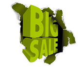Big sale discount advertisement — Stockvektor