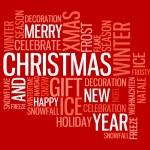 Abstract christmas card — Stock Vector #6285949
