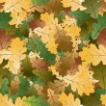 Oak leafs seamless pattern — Stock Vector #6348169