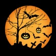 Royalty-Free Stock Векторное изображение: Halloween illustration