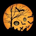 Halloween illustration — Stock Vector #6352945
