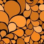 Orange abstract seamless pattern — Stock Vector #6356689