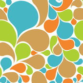 Colorful abstract seamless pattern — ストックベクタ
