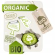 Vector de stock : Set of bio, eco, organic elements