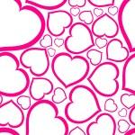 Love seamless vector pattern — Stock Vector #6428727