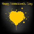 Royalty-Free Stock Vector Image: Grunge Valentines day card