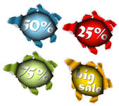 Anúncio de venda de desconto — Vetorial Stock