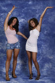 Happy girls — Stock Photo