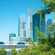 Skyscrapers in megapolis — Stock Photo