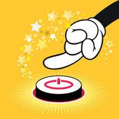 Start button — Stock Vector
