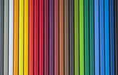 Background of colored pencils — Stock Photo