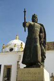 Statue of D.Afonso III — Stock Photo