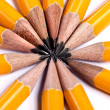 Yellow pencils — Stock Photo