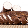 Cassava root — Stock Photo