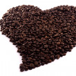 Roasted beans of coffee — Stock Photo #6035534