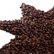 Roasted beans of coffee — Stock Photo #6035567