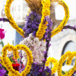 Procession of torch flowers — Stock Photo #6037983