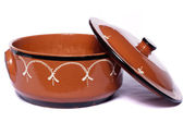 Traditional clay earthenware — Stock Photo