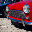 Classic mini cars — Stock Photo #6041531