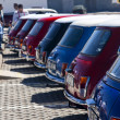 Classic mini cars — Stock Photo #6041564