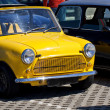 Classic mini cars - Stock Photo