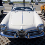 Classic seventies car — Stock Photo #6041624