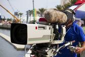 Professional camera operator — Stock Photo