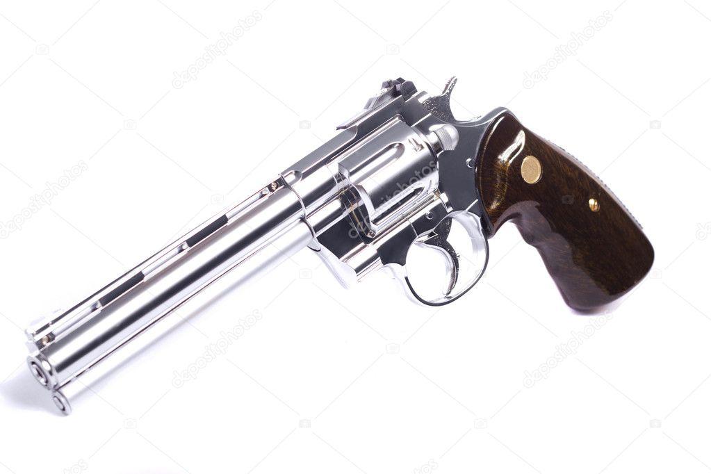 airsoft pistolet blanc photographie membio 6040565. Black Bedroom Furniture Sets. Home Design Ideas