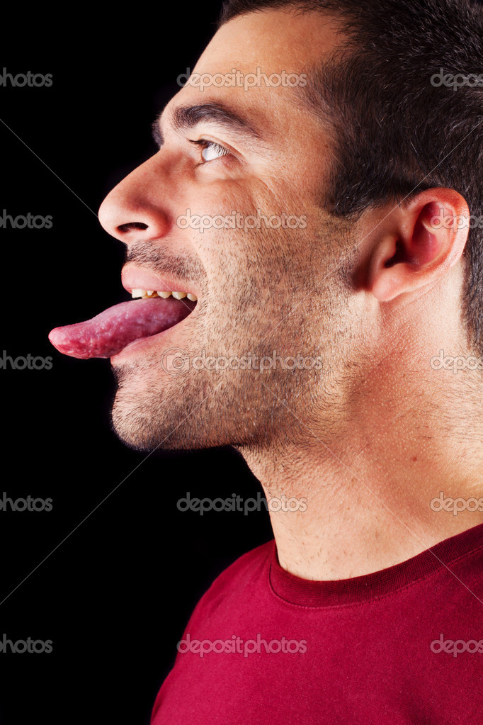 tongue macho