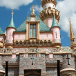 Disneyland castle - Stock Photo