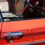 Custom classic car detail — Stock Photo #5590280