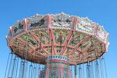 Renkli carousel — Stok fotoğraf