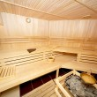 Stock Photo: Wooden sauna