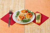The cutlets for dinner — Stock Photo