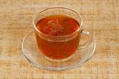 šálek čaje ráno — Stock fotografie