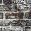 Bricks With Worn White Paint — Stock Photo