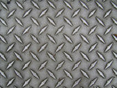 Diamond Plate Texture — Stock Photo