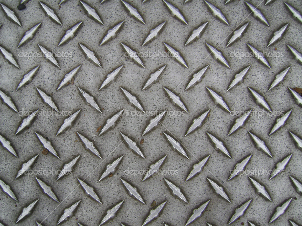Diamond Textured Wallpaper a Worn Diamond Plate